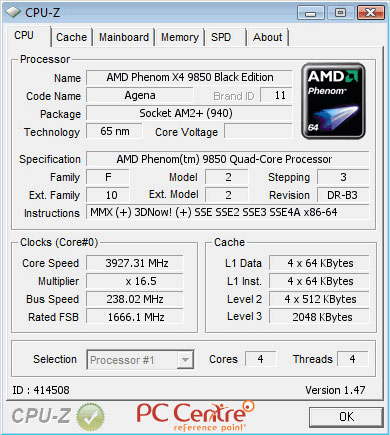 CPU-Z: Rekord świata w OC